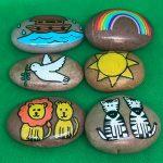 Noah's Ark Story Stones